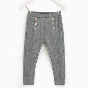 Zara Ponte Knit Leggings